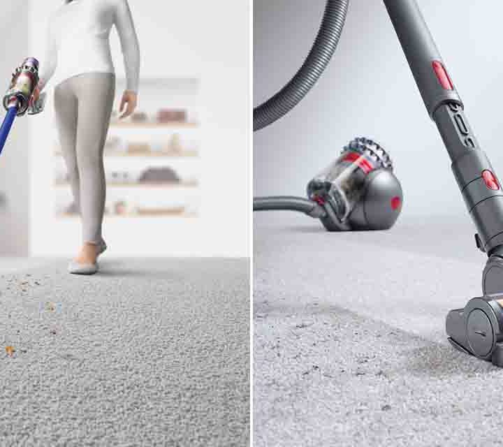 The Dyson V11 Absolute Vacuum and the Dyson Cinetic Big Ball Absolute Vacuum.