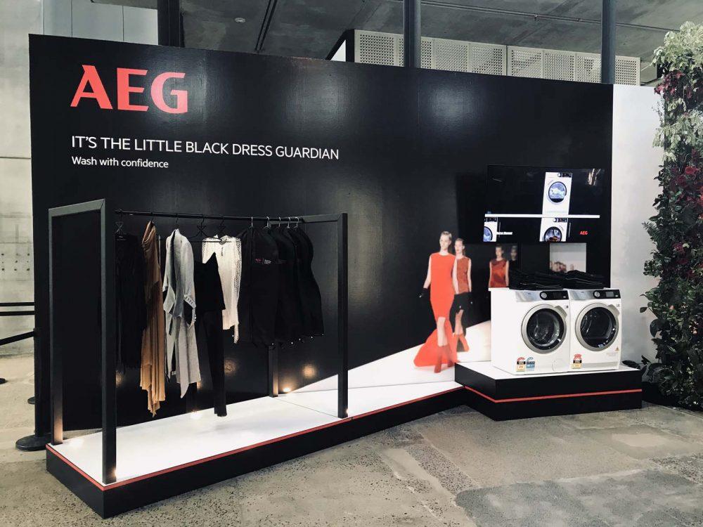The AEG Activation at Mercedes-Benz Fashion Week Australia.