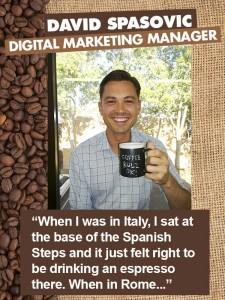 Harvey Norman Australian Coffee Week - David Spasovic