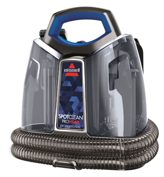 The BISSELL SpotClean ProHeat Professional Carpet & Upholstery Washer.