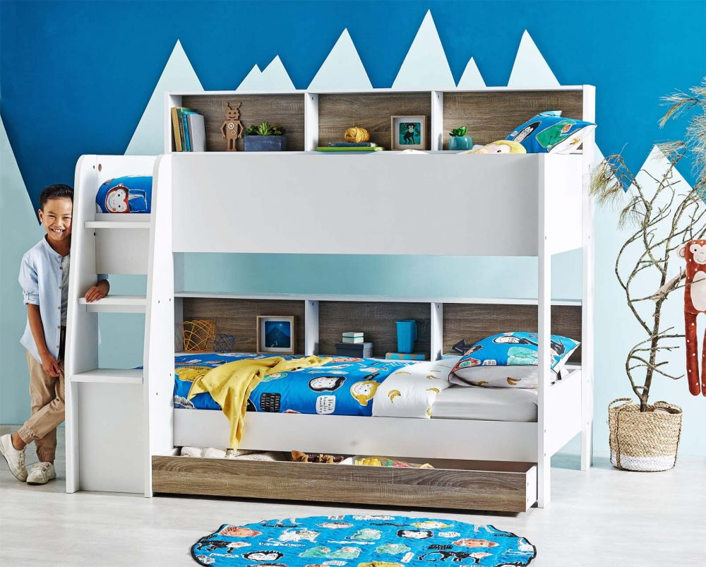 Bedroom organisation solution: Biblos Bunk Bed