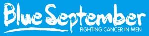 Blue September logo (white on blue)