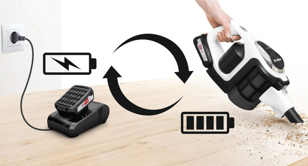 Bosch Unlimited Vacuum Battery