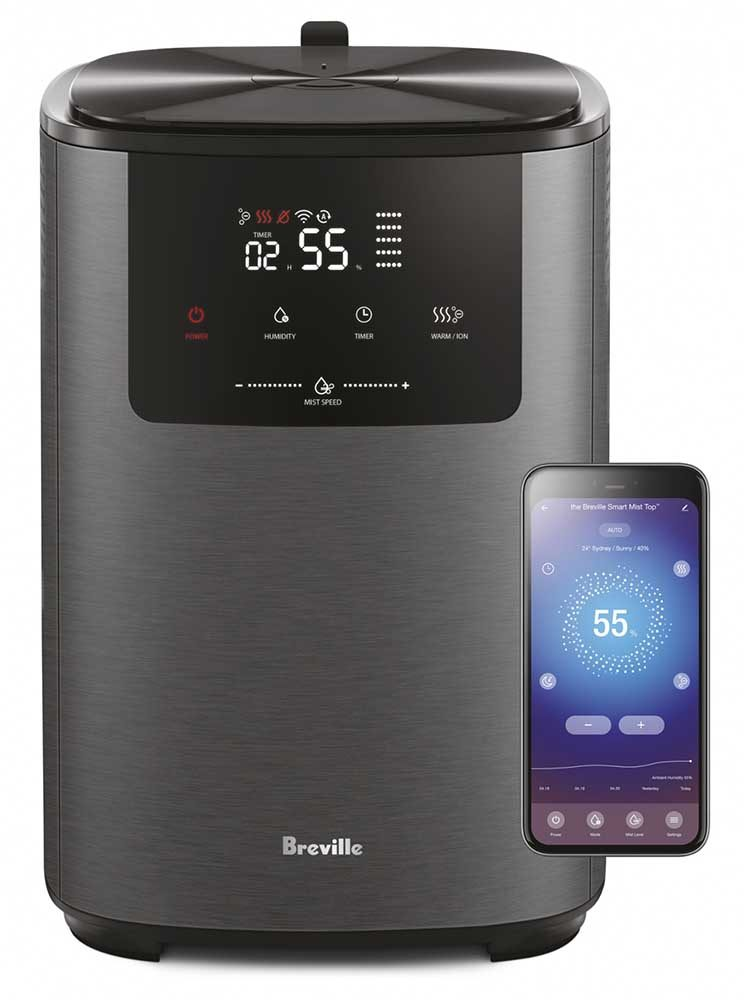 Breville Home Connect™ App for Mist Top Humidifier