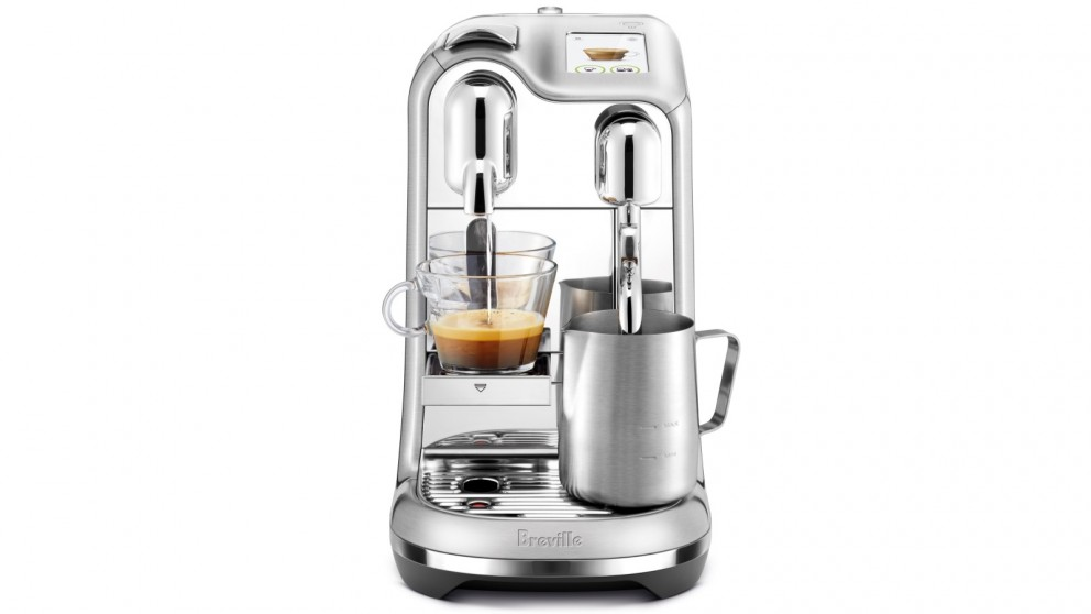 The Breville Nespresso Creatista Pro Coffee Machine.