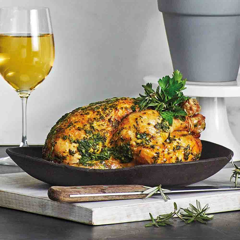Lemon and Thyme Chicken Recipe created by Breville.
