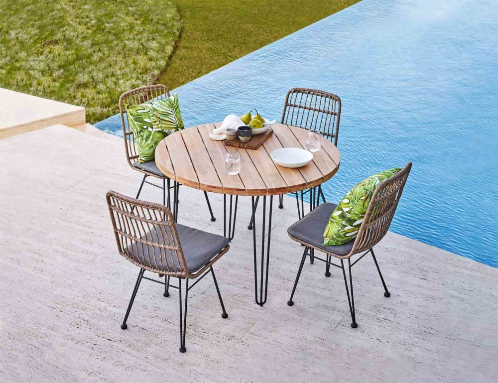 'Charlotte' 5-Piece Outdoor Package