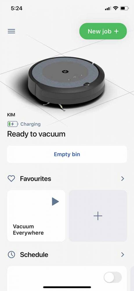 You can operate the iRobot Roomba i3+ Robotic Vacuum on your phone.