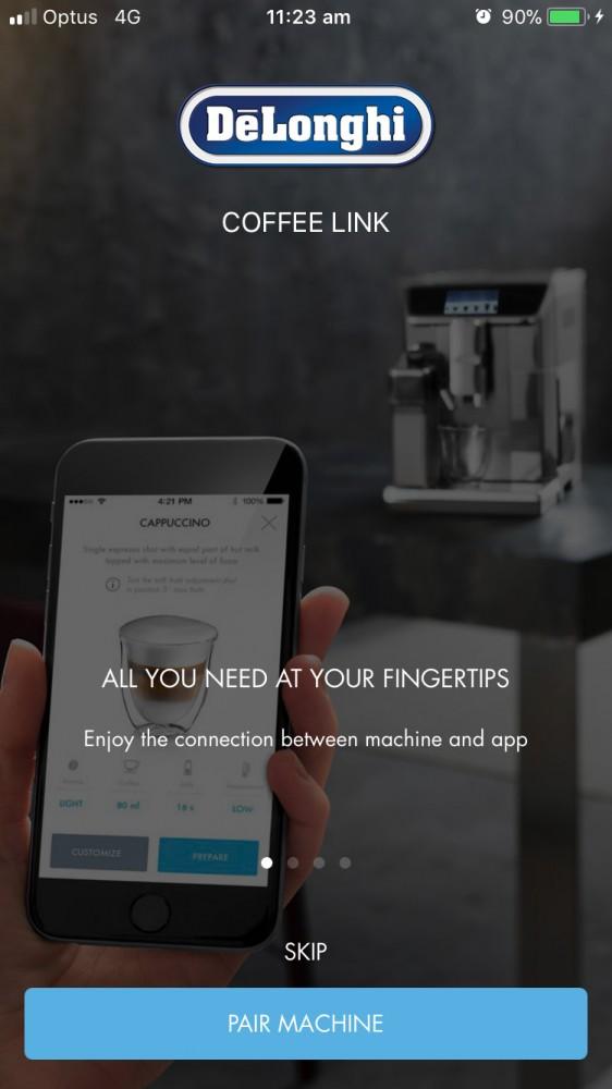 DeLonghi-Coffee-Link-app