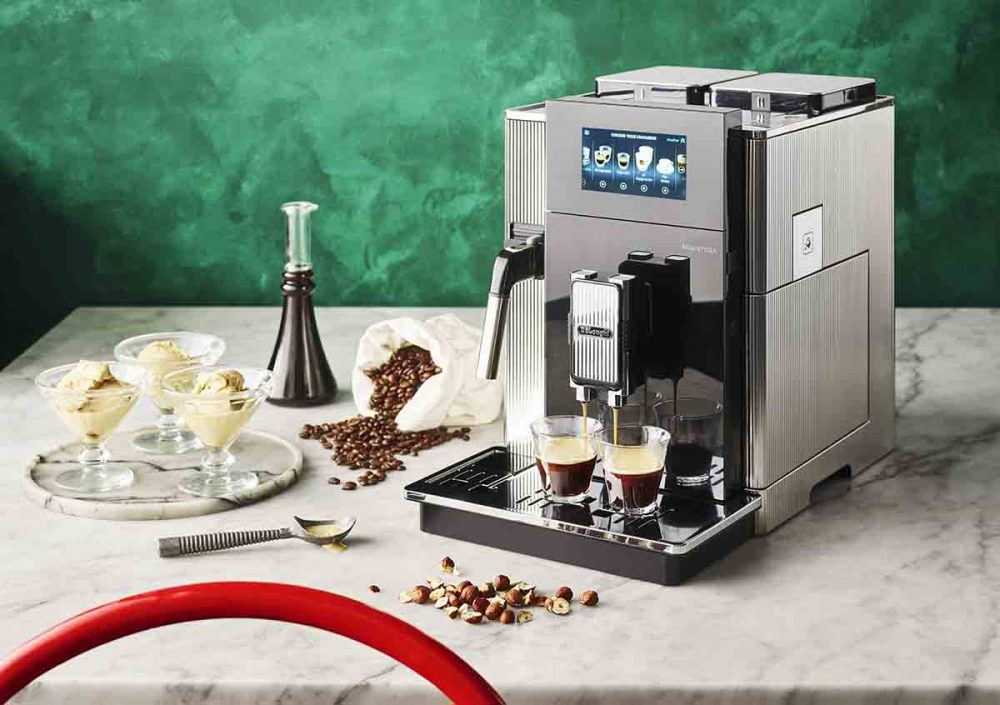 The De'Longhi Maestosa Coffee Machine.