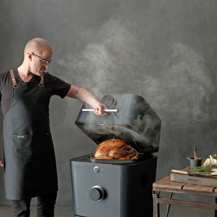 The Everdure by Heston Blumenthal 4K Charcoal BBQ