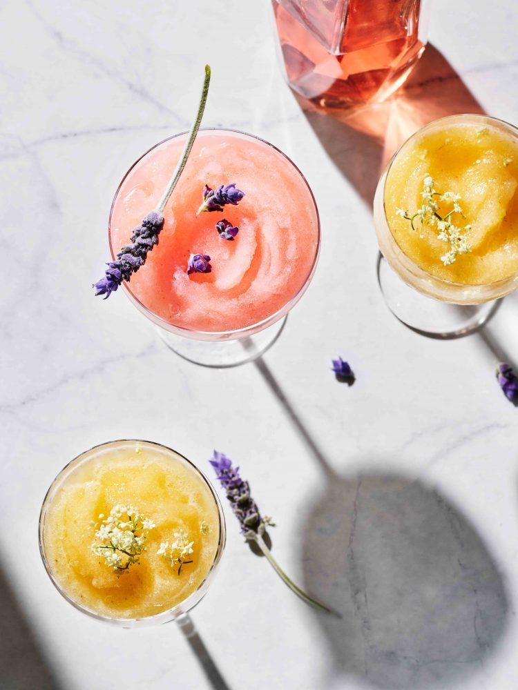 Berry and Apple Frose + Pineapple Frosecco