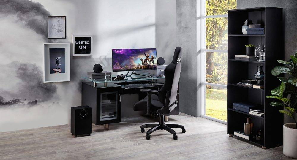 The Gen-X Executive Desk in a Home Office