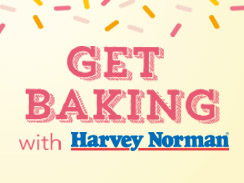 Get Baking with Harvey Norman