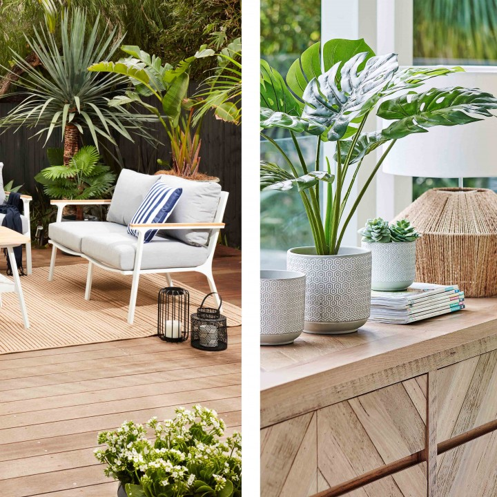 Tropical Indoor and Outdoor Summer Furniture