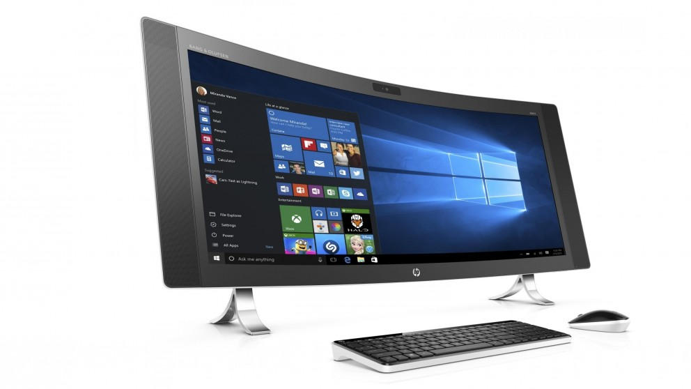 Lose yourself in your favourite media with the world's widest curved all-in-one PC - check out the HP Envy at Harvey Norman.