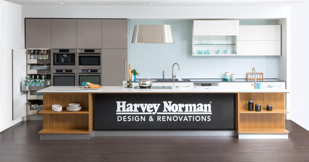 Harvey Norman\'s New Design & Renovations Showroom – Your First Stop ...