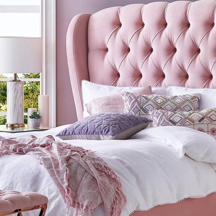 Incredible Beds Harvey Norman, Pink Upholstered Bed Frame Australia