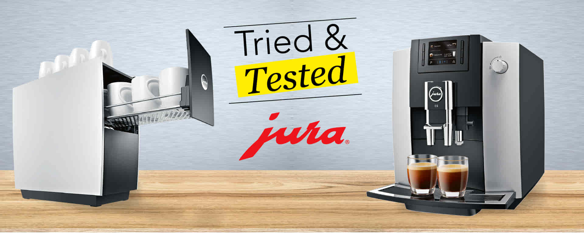 our best coffee break ever with the jura e6 coffee machine. Black Bedroom Furniture Sets. Home Design Ideas