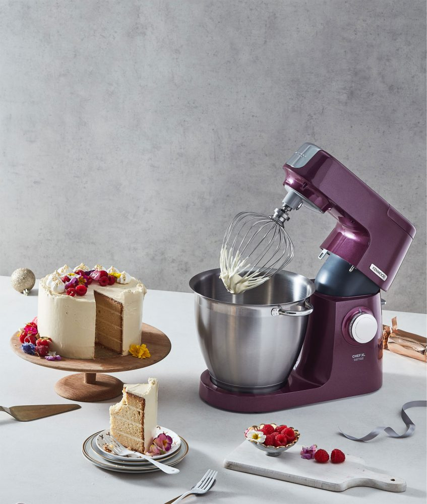 Kenwood 'Chef' XL Mixer - Celebration Cake Christmas Recipe