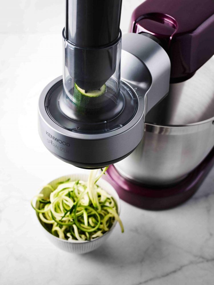 Kenwood Spiralizer Zucchini Noodles