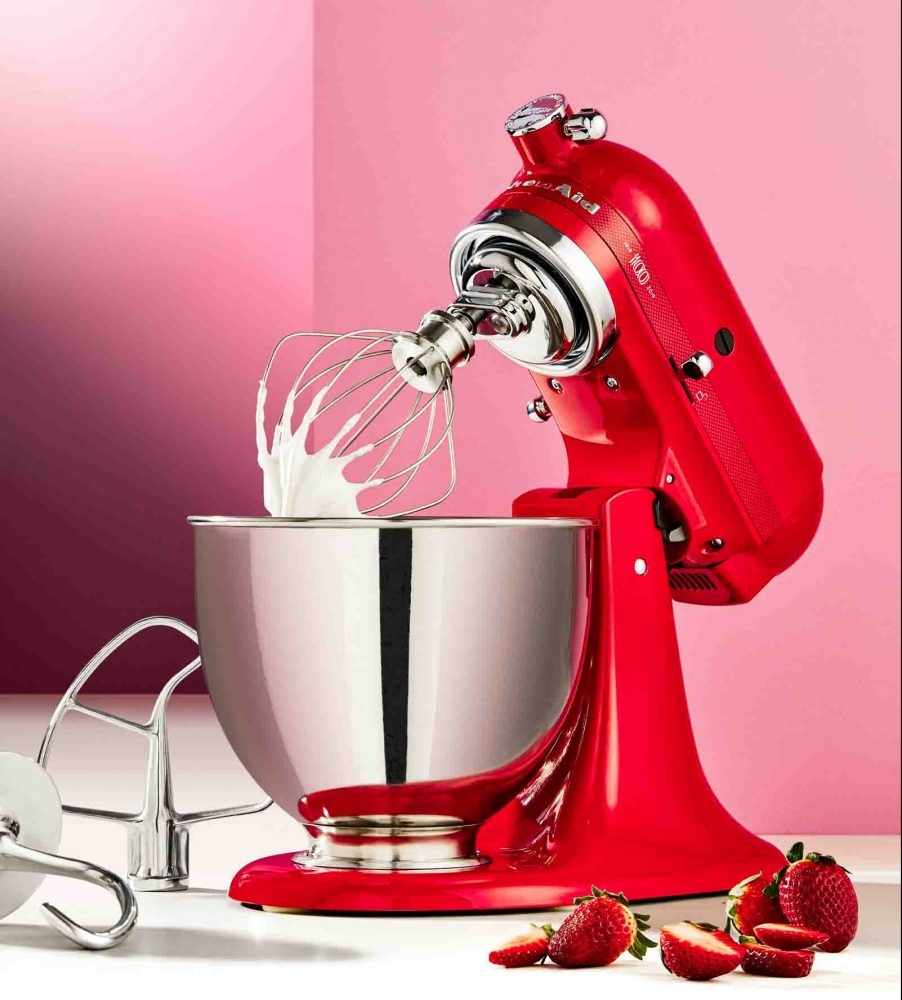 KitchenAid 100 Year Queen of Hearts Stand Mixer