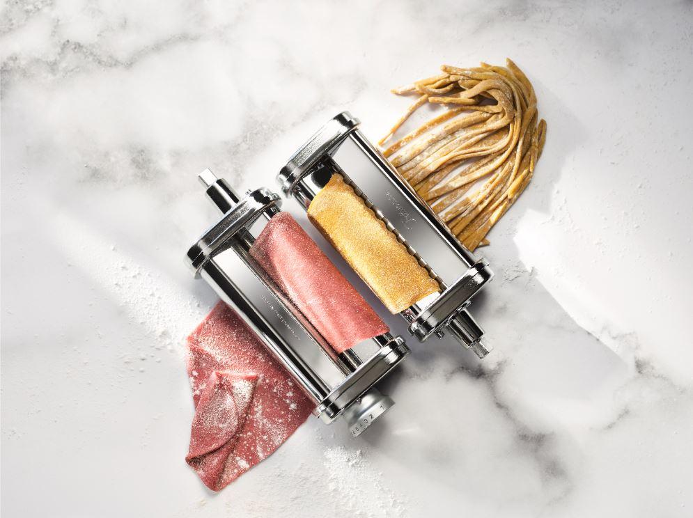 The KitchenAid Pasta Roller Attachment.