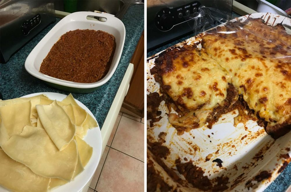 Lasagne Recipe made with Philips Pasta & Noodle Maker
