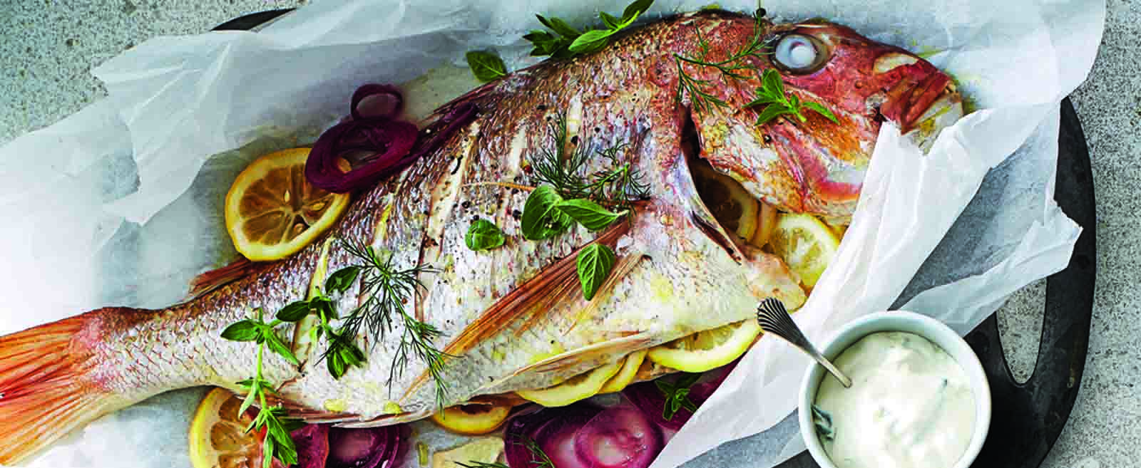 Lemon and Dill Snapper