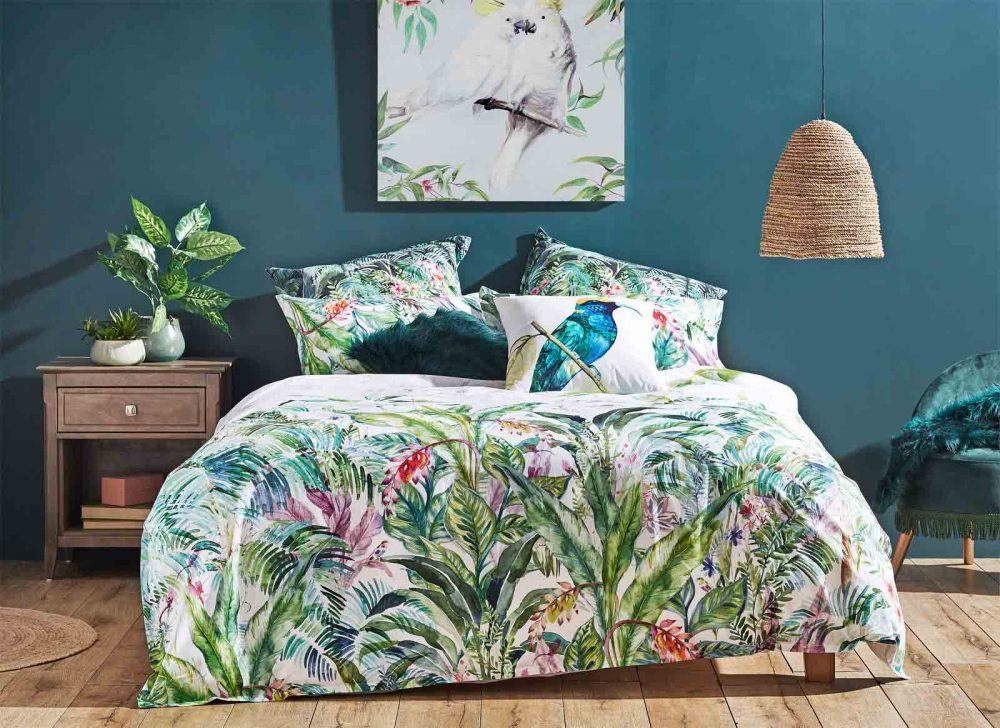 Luxotic Leilani Quilt Cover Set