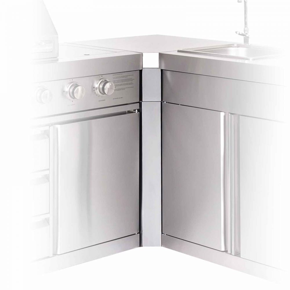 Massport Ambassador Outdoor Kitchen Corner Module