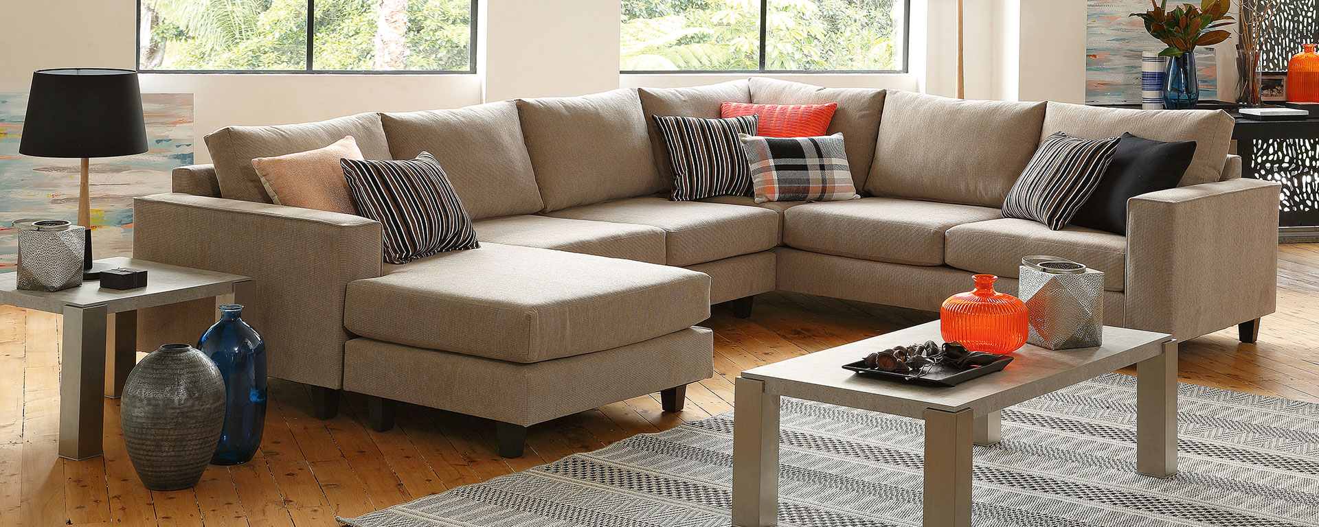 Houston sofa harvey norman for Suite modulare