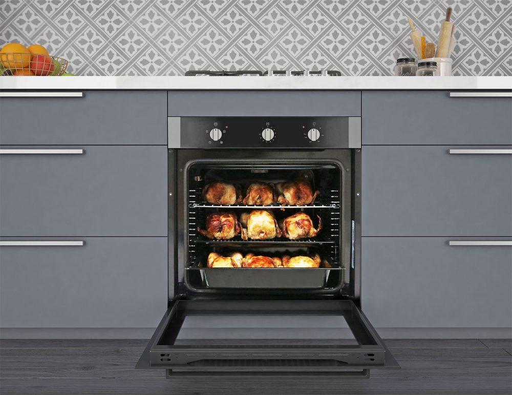 Omega 600mm 4-function Oven