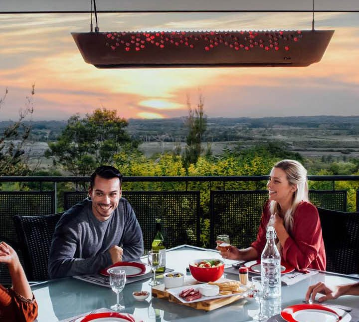 Outdoor Heaters for Winter Entertaining from Harvey Norman.