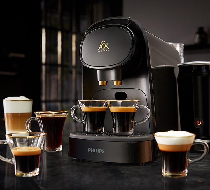 Review of the Philips L'Or Barista coffee machine.