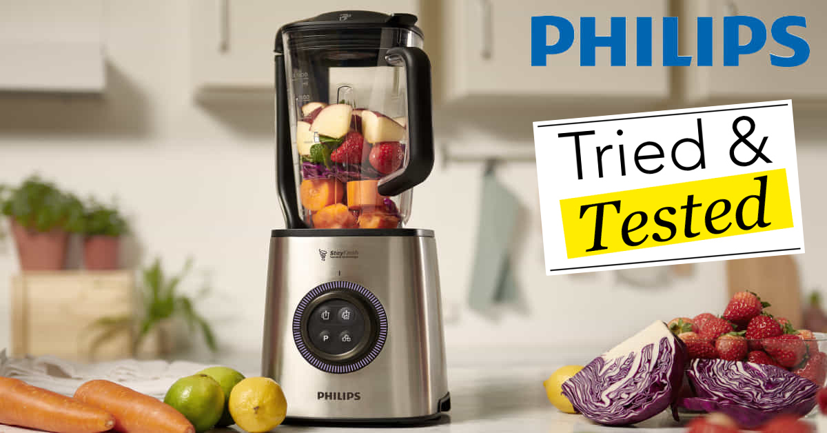 Philips Vacuum Blender Review Tried & Tested
