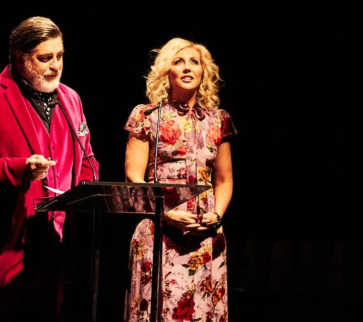 Matt Preston and Kerrie McCallum hosted this year's Produce Awards.