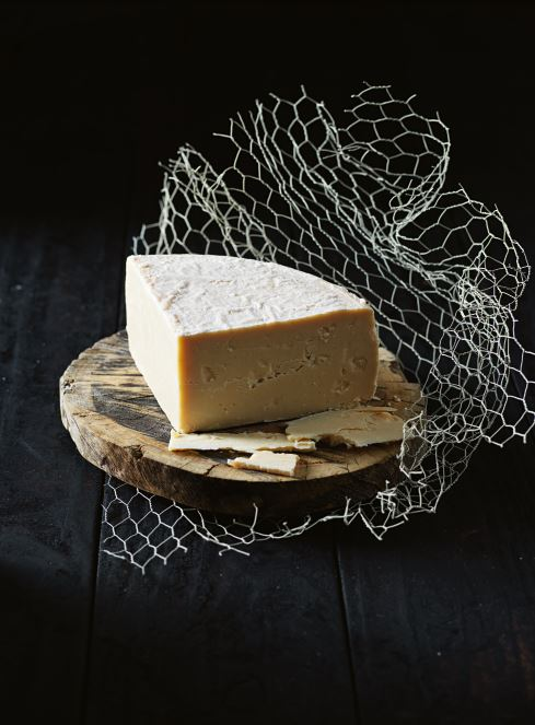 Aged La Dame from the Barossa Valley Cheese Company.