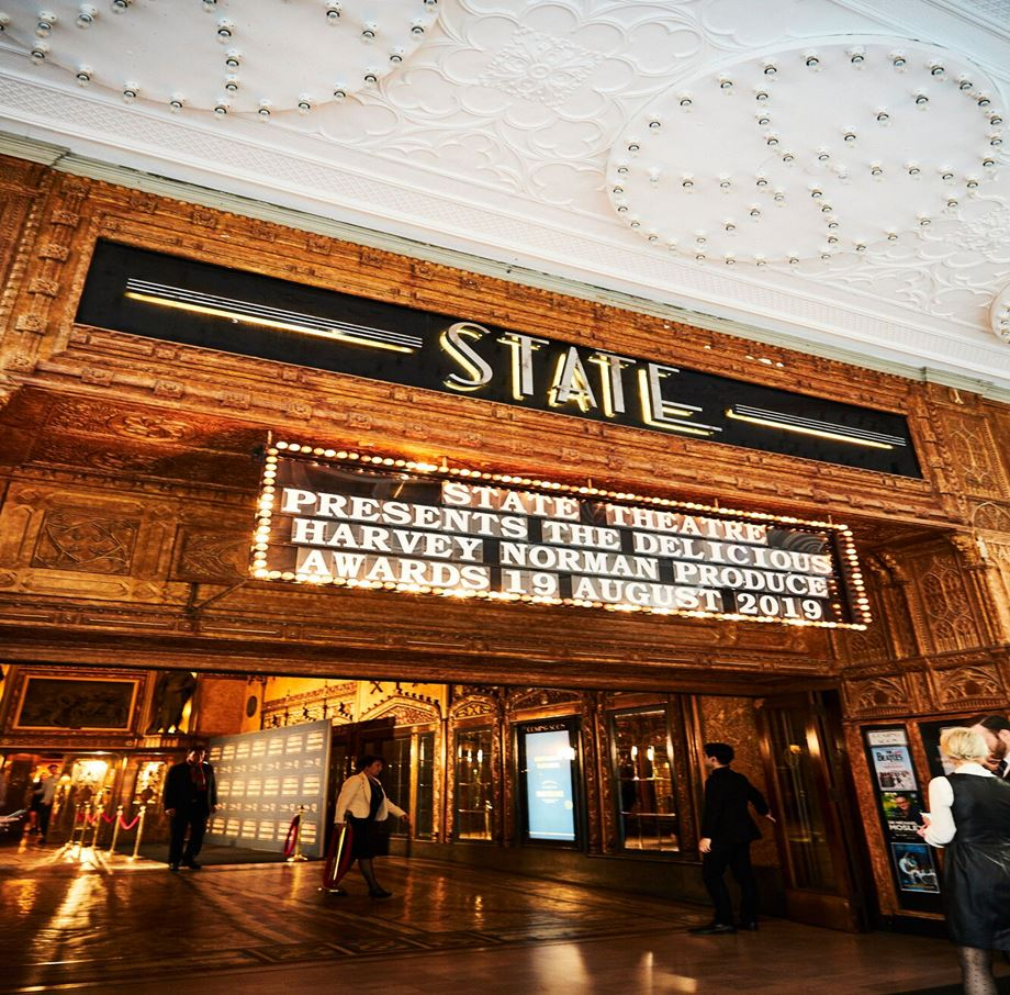 The State Theatre in Sydney hosted the 2019 Produce Awards.