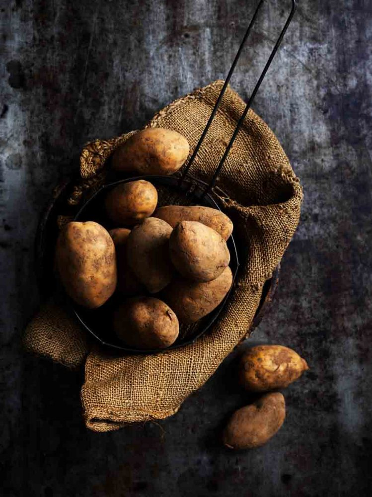 Andean Sunrise Potatoes produced by Garry Kadwell.