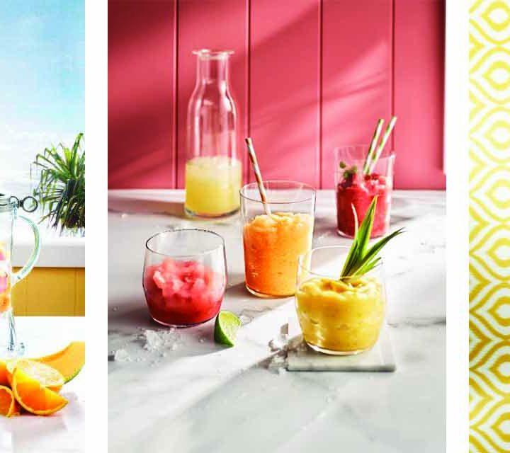 Recipe for Rockmelon and Lemon Frappe in the Breville 3X Bluicer Pro Blender.