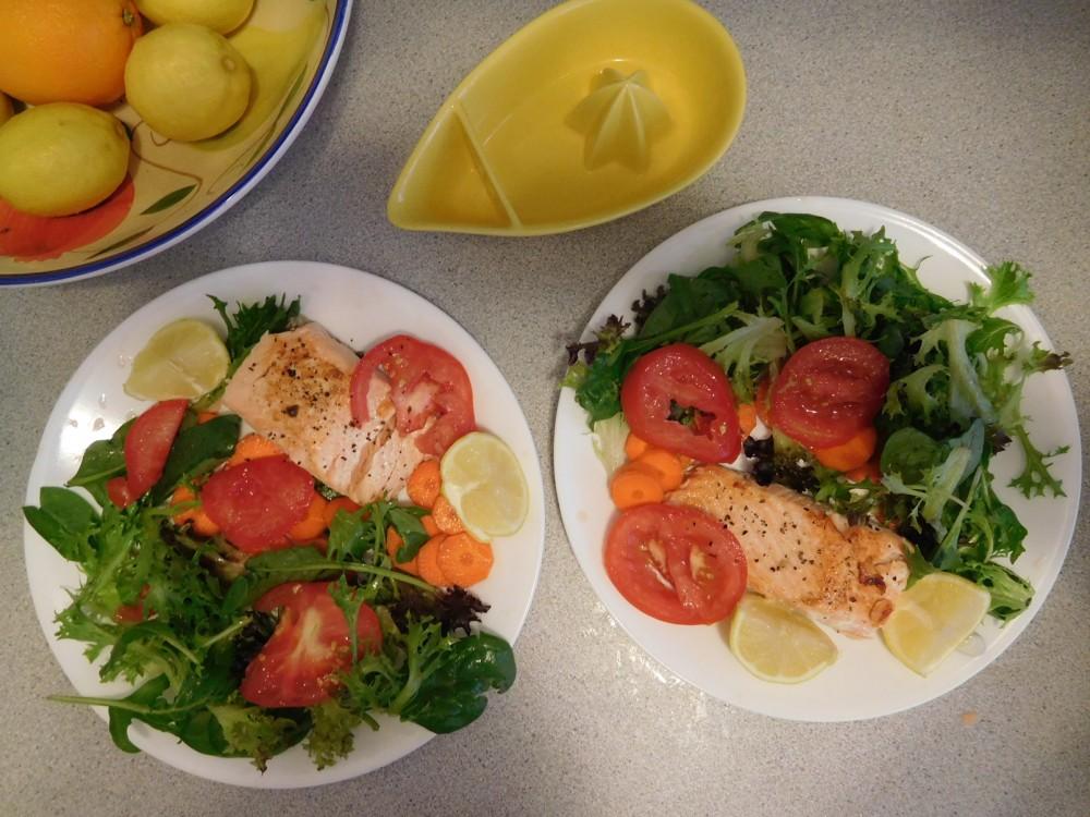 Salmon-Plated