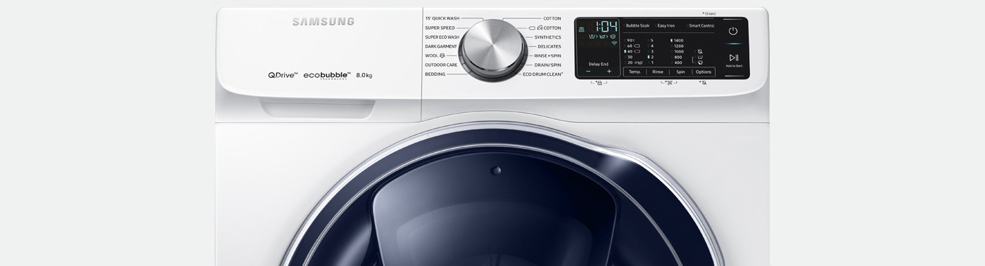 The super-fast Samsung QuickDrive Washing Machine