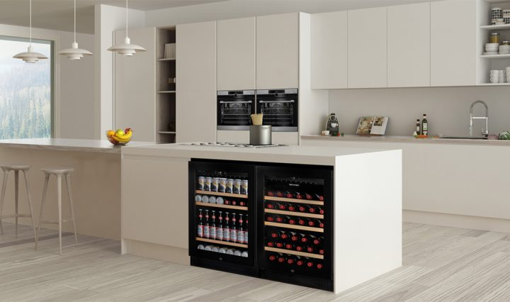 The new Vinte Seamless Wine Cabinet Range is the perfect way to cellar your wine.