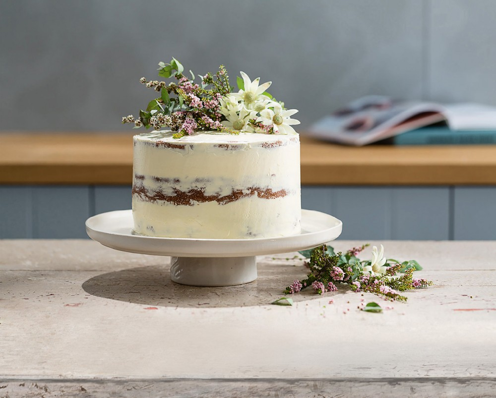 Sparkling-Rose-Vanilla-Cake