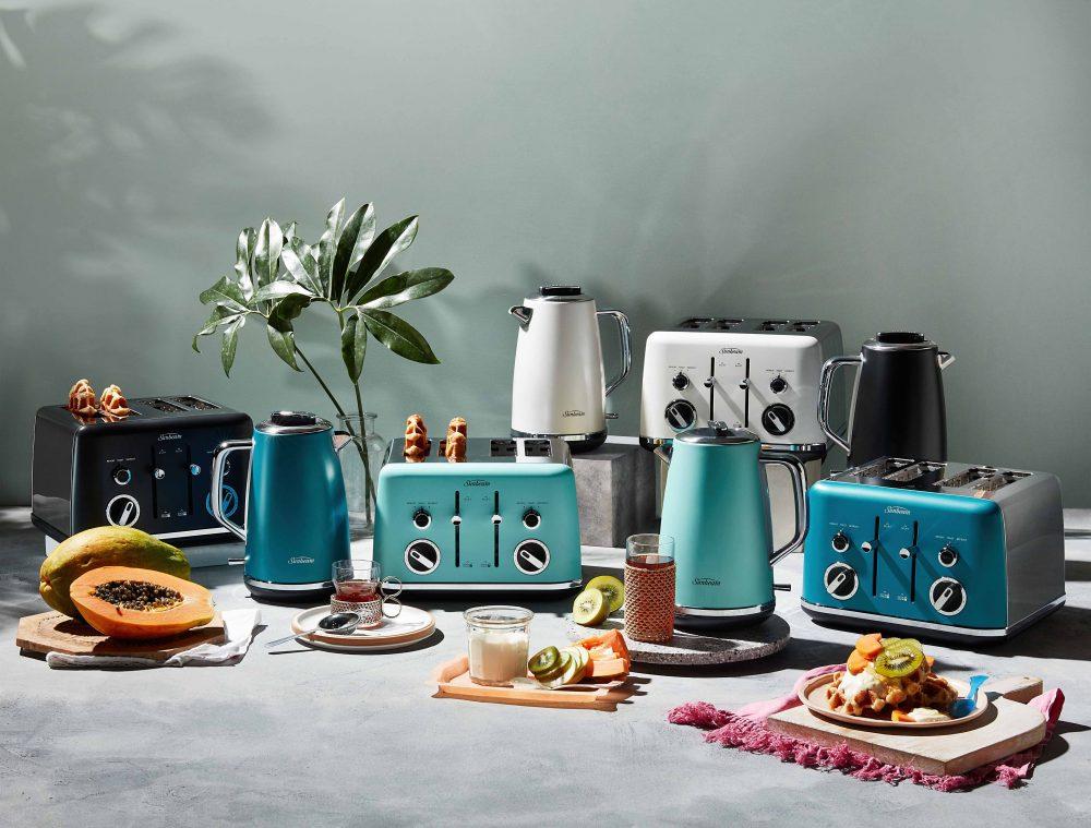 Sunbeam Gallerie Metalic Kitchen Appliances