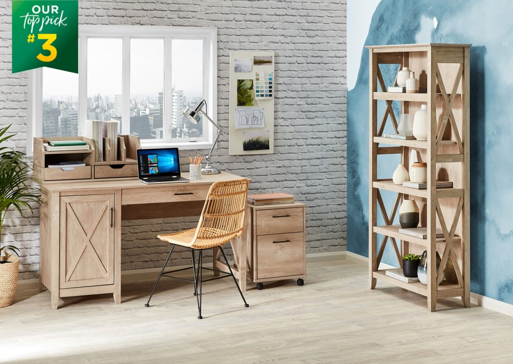 The Coastal Collection is our #1 Top Pick for Home Office Furniture