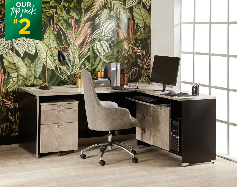The Hercules Desk is our #2 Top Pick for Home Office Furniture