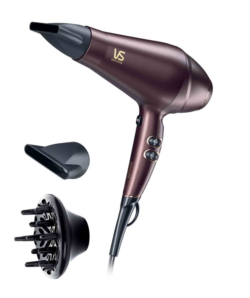VS Sassoon Frizz Defense 2300W AC Salon Hair Dryer