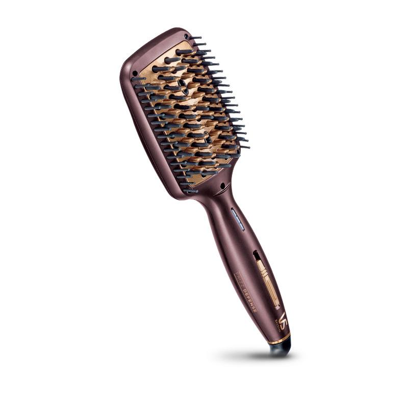 The VS Sassoon Frizz Defense Hair Straightening Brush.